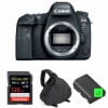 Canon EOS 6D Mark II Body + SanDisk 128GB Extreme PRO UHS-I SDXC 170 MB/s + 2 Canon LP-E6N + Bag | 2 Years Warranty