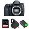 Canon EOS 6D Mark II Nu + SanDisk 128GB Extreme PRO UHS-I SDXC 170 MB/s + 2 Canon LP-E6N + Sac | Garantie 2 ans