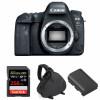 Canon EOS 6D Mark II Cuerpo + SanDisk 256GB Extreme PRO UHS-I SDXC 170 MB/s + Canon LP-E6N + Bolsa | 2 años de garantía