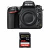Nikon D750 Cuerpo + SanDisk 256GB Extreme PRO UHS-I SDXC 170 MB/s