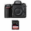 Nikon D750 Nu + SanDisk 256GB Extreme PRO UHS-I SDXC 170 MB/s   Garantie 2 ans