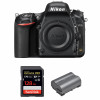 Nikon D750 Nu + SanDisk 128GB Extreme PRO UHS-I SDXC 170 MB/s + Nikon EN-EL15b | Garantie 2 ans