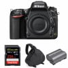 Nikon D750 Body + SanDisk 256GB Extreme PRO UHS-I SDXC 170 MB/s + Nikon EN-EL15b + Bag | 2 Years Warranty