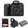 Nikon D750 Nu + SanDisk 256GB Extreme PRO UHS-I SDXC 170 MB/s + Nikon EN-EL15b + Sac | Garantie 2 ans