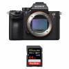Sony ALPHA 7R III Nu + SanDisk 64GB Extreme PRO UHS-I SDXC 170 MB/s   Garantie 2 ans