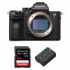 Sony ALPHA 7R III Nu + SanDisk 64GB Extreme PRO UHS-I SDXC 170 MB/s + Sony NP-FZ100 | Garantie 2 ans