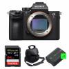 Sony ALPHA 7R III Body + SanDisk 64GB Extreme PRO UHS-I SDXC 170 MB/s + 2 Sony NP-FZ100 + Camera Bag | 2 Years Warranty