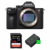 Sony ALPHA 7R III Body + SanDisk 128GB Extreme PRO UHS-I SDXC 170 MB/s + 2 Sony NP-FZ100   2 Years Warranty
