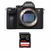 Sony ALPHA 7R III Nu + SanDisk 256GB Extreme PRO UHS-I SDXC 170 MB/s | Garantie 2 ans