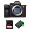 Sony ALPHA 7R III Body + SanDisk 256GB Extreme PRO UHS-I SDXC 170 MB/s + 2 Sony NP-FZ100 | 2 Years Warranty