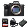Sony ALPHA 7R III Body + SanDisk 256GB Extreme PRO UHS-I SDXC 170 MB/s + Sony NP-FZ100 + Camera Bag | 2 Years Warranty