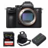 Sony ALPHA 7R III Nu + SanDisk 256GB Extreme PRO UHS-I SDXC 170 MB/s + Sony NP-FZ100 + Sac | Garantie 2 ans