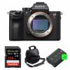 Sony ALPHA 7R III Nu + SanDisk 256GB Extreme PRO UHS-I SDXC 170 MB/s + 2 Sony NP-FZ100 + Sac | Garantie 2 ans