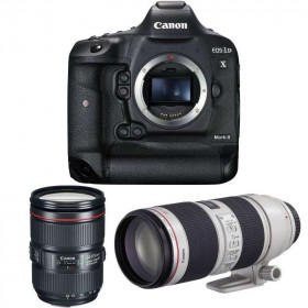 Canon EOS 1D X Mark II + 24-105 L IS II USM + EF 70-200mm f/2.8 L IS II USM