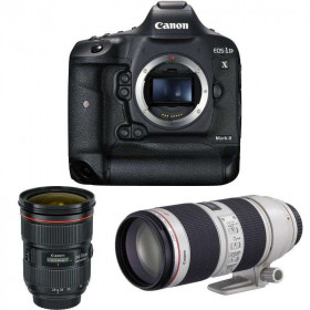 Canon EOS 1D X Mark II + EF 24-70 f/2.8L II USM + EF 70-200mm f/2.8 L IS II USM