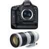 Canon EOS 1D X Mark II + EF 70-200mm f/2.8L IS III USM   2 Years Warranty