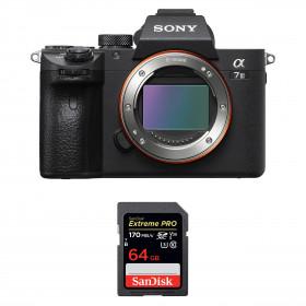 Sony Alpha 7 III Body + SanDisk 64GB Extreme PRO UHS-I SDXC 170 MB/s   2 Years Warranty