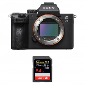 Sony Alpha 7 III Cuerpo + SanDisk 64GB Extreme PRO UHS-I SDXC 170 MB/s | 2 años de garantía