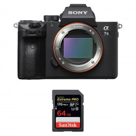 Sony Alpha 7 III Nu + SanDisk 64GB Extreme PRO UHS-I SDXC 170 MB/s