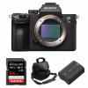 Sony Alpha 7 III Nu + SanDisk 64GB Extreme PRO UHS-I SDXC 170 MB/s + Sony NP-FZ100 + Sac | Garantie 2 ans