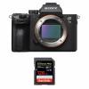 Sony Alpha 7 III Cuerpo + SanDisk 128GB Extreme PRO UHS-I SDXC 170 MB/s | 2 años de garantía