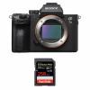 Sony Alpha 7 III Nu + SanDisk 256GB Extreme PRO UHS-I SDXC 170 MB/s | Garantie 2 ans