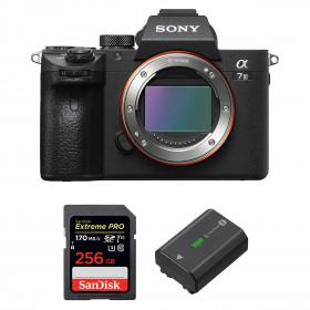 Sony Alpha 7 III Cuerpo + SanDisk 256GB Extreme PRO UHS-I SDXC 170 MB/s + Sony NP-FZ100 | 2 años de garantía
