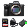 Sony Alpha 7 III Body + SanDisk 256GB Extreme PRO UHS-I SDXC 170 MB/s + 2 Sony NP-FZ100 + Camera Bag | 2 Years Warranty