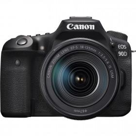 Canon EOS 90D + 18-135mm f/3.5-5.6 IS USM | 2 años de garantía