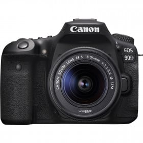 Canon EOS 90D + 18-55mm F/3.5-5.6 EF-S IS STM | Garantie 2 ans