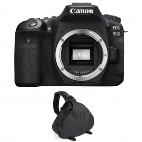 Canon EOS 90D Body + Bag | 2 Years Warranty