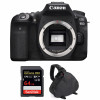 Canon EOS 90D Body + SanDisk 64GB Extreme PRO UHS-I SDXC 170 MB/s + Bag | 2 Years Warranty