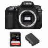 Canon EOS 90D Body + SanDisk 128GB Extreme PRO UHS-I SDXC 170 MB/s + Canon LP-E6N | 2 Years Warranty