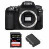 Canon EOS 90D Nu + SanDisk 128GB Extreme PRO UHS-I SDXC 170 MB/s + Canon LP-E6N | Garantie 2 ans