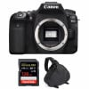 Canon EOS 90D Body + SanDisk 128GB Extreme PRO UHS-I SDXC 170 MB/s + Camera Bag | 2 Years Warranty