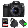 Canon EOS 90D + 18-55mm IS STM + SanDisk 256GB Extreme PRO UHS-I SDXC 170 MB/s + 2 Canon LP-E6N  + Camera Bag | 2 Years Warranty