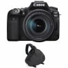 Canon EOS 90D + 18-135mm f/3.5-5.6 IS USM + Bag | 2 Years Warranty