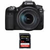 Canon EOS 90D + 18-135mm f/3.5-5.6 IS USM + SanDisk 64GB Extreme PRO UHS-I SDXC 170 MB/s | 2 Years Warranty