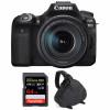 Canon EOS 90D + 18-135mm f/3.5-5.6 IS USM + SanDisk 64GB Extreme PRO UHS-I SDXC 170 MB/s + Sac | Garantie 2 ans