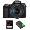 Canon EOS 90D + 18-135mm f/3.5-5.6 IS USM + SanDisk 128GB Extreme PRO UHS-I SDXC 170 MB/s + 2 Canon LP-E6N | 2 Years Warranty