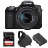 Canon EOS 90D + 18-135mm IS USM + SanDisk 128GB Extreme PRO UHS-I SDXC 170 MB/s + Canon LP-E6N  + Bolsa | 2 años de garantía