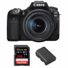 Canon EOS 90D + 18-135mm f/3.5-5.6 IS USM + SanDisk 256GB Extreme PRO UHS-I SDXC 170 MB/s + Canon LP-E6N | Garantie 2 ans