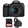 Canon EOS 90D + 18-135mm f/3.5-5.6 IS USM + SanDisk 256GB Extreme PRO UHS-I SDXC 170 MB/s + Bag | 2 Years Warranty