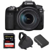 Canon EOS 90D + 18-135mm IS USM + SanDisk 256GB Extreme PRO UHS-I SDXC 170 MB/s + Canon LP-E6N + Sac | Garantie 2 ans