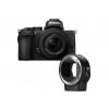 Nikon Z50 + Nikon Z DX 16-50 mm f/3.5-6.3 + Nikon FTZ | 2 Years Warranty