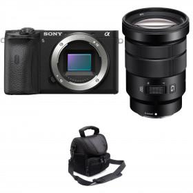 Sony ALPHA 6600 + Sony E PZ 18-105mm f/4 G OSS + Sac