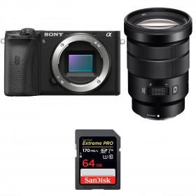 Sony ALPHA 6600 + Sony E PZ 18-105mm f/4 G OSS + SanDisk 64GB Extreme PRO UHS-I SDXC 170 MB/s