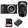 Sony ALPHA 6600 + Sony E PZ 18-105mm f/4 G OSS + SanDisk 64GB Extreme PRO UHS-I SDXC 170 MB/s + Sony NP-FZ100 | Garantie 2 ans