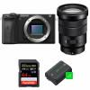 Sony ALPHA 6600 + E PZ 18-105mm f/4 G OSS + SanDisk 64GB Extreme PRO UHS-I SDXC 170 MB/s + 2 Sony NP-FZ100   Garantie 2 ans