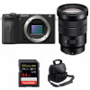Sony ALPHA 6600 + Sony E PZ 18-105mm f/4 G OSS + SanDisk 64GB Extreme PRO UHS-I SDXC 170 MB/s + Sac | Garantie 2 ans